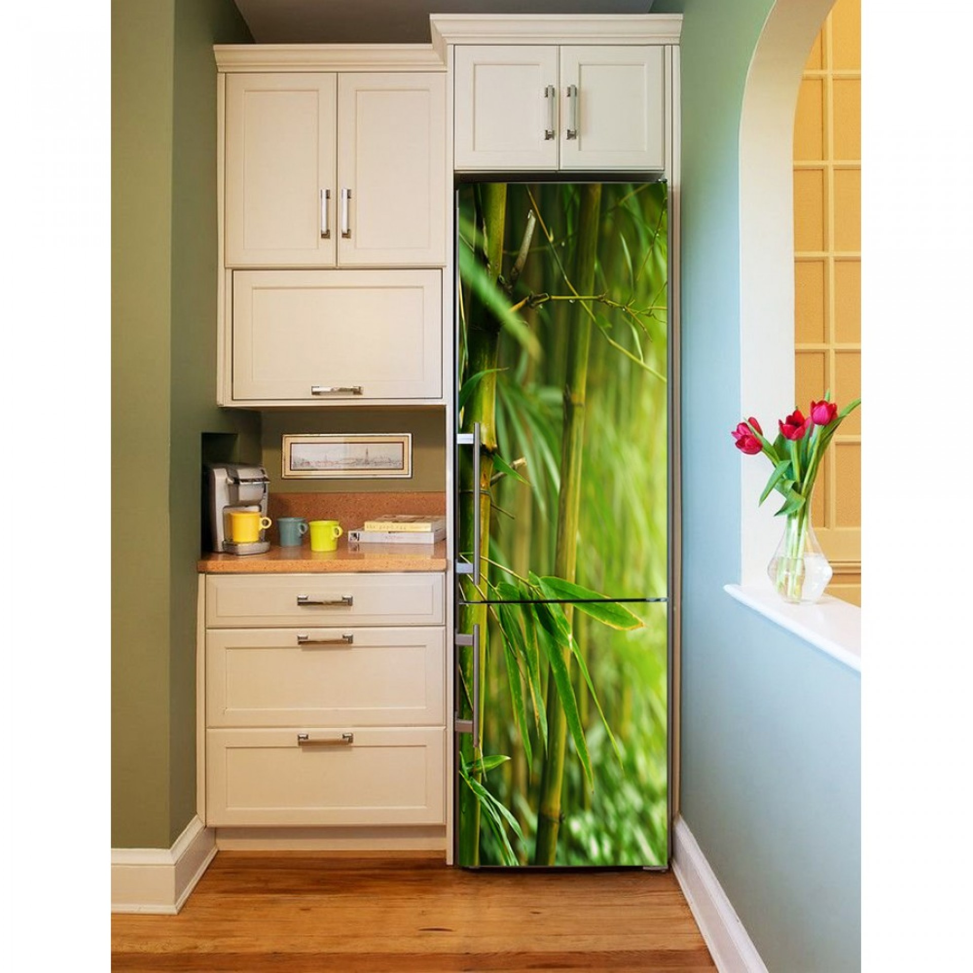 "Магнитное полотно на холодильник ""Бамбук"" МП 463"