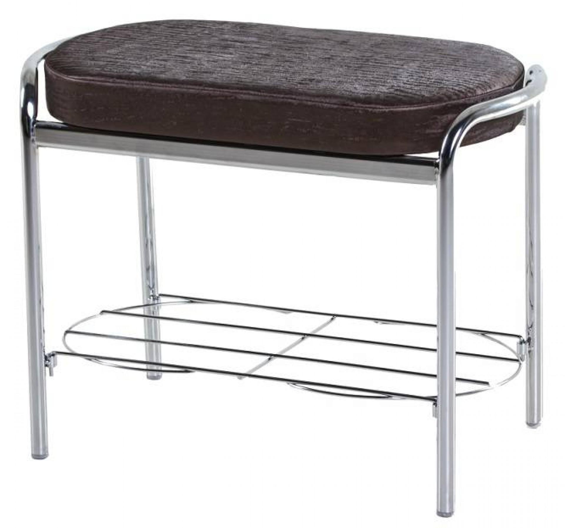 """Банкетка двухместная с подставкой для обуви """"Столы и стулья"""" 600мм"""