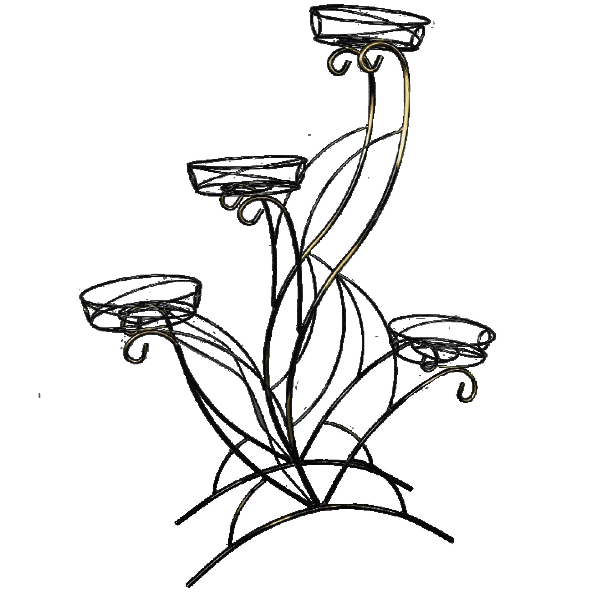 """Подставка под цветы """"Лотос-4"""""""