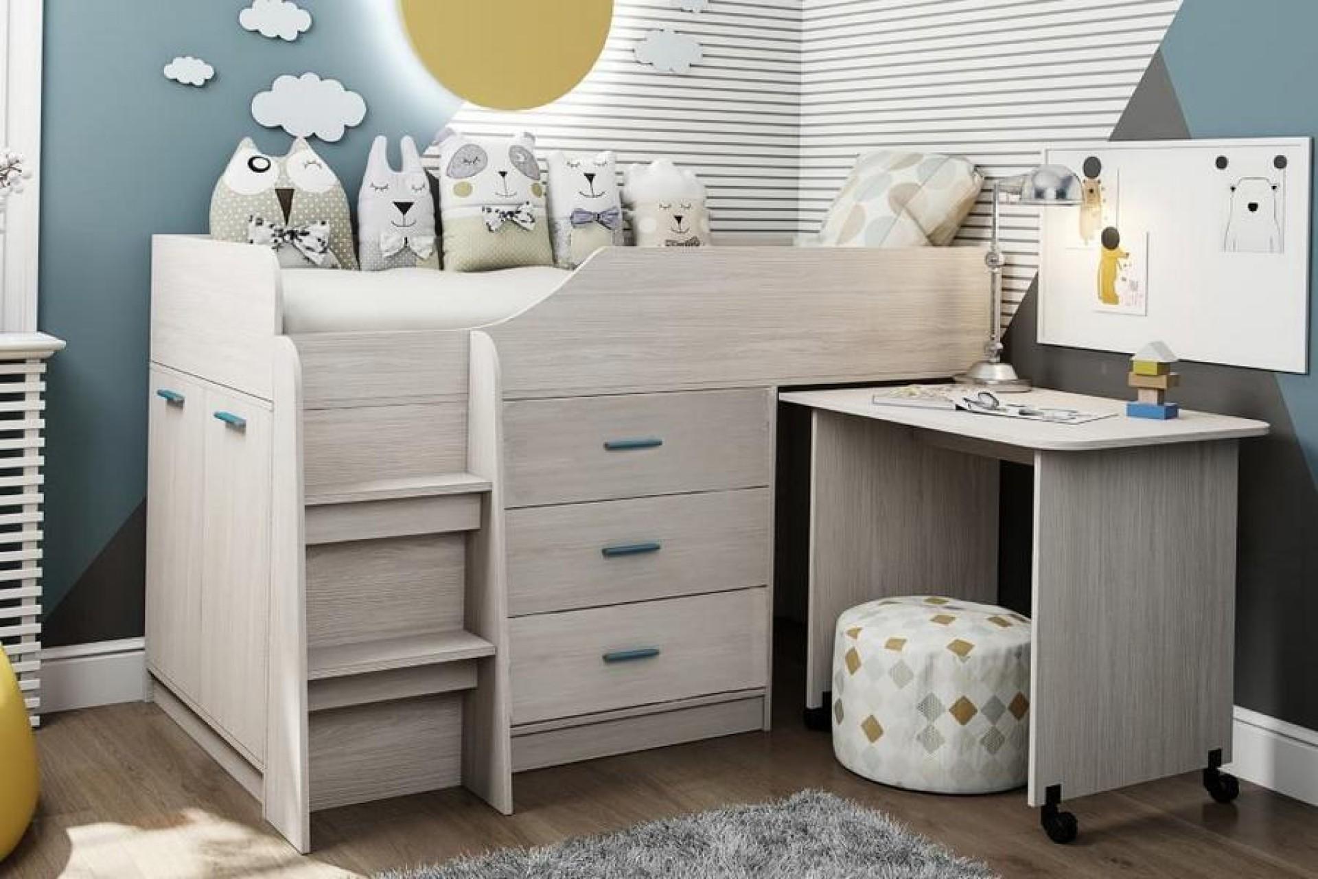 """Кровать без рисунка """"Каприз-6"""""""