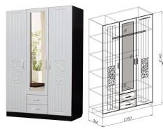 "Шкаф 3х створчатый Спальня ""Атлантида"""