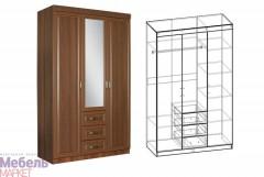 "Шкаф 3х створчатый Спальня ""Линда"""