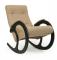 """Кресло-качалка """"Модель 3"""" венге/бежевый"""
