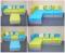 """Модульный диван-трансформер """"Идея Фикс"""" семнадцатая миниатюра"""