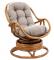 """Кресло-качалка """"Kara"""" с подушкой миниатюра"""