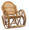 """Кресло-качалка """" Novo"""" с подушкой миниатюра"""