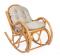 """Кресло-качалка """"Bella"""" с подушкой вторая миниатюра"""