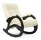 """Кресло-качалка """"Модель 4 б/л"""" венге/бежевый"""