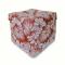 Пуфик-шкатулка цветы