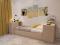 Кровать с ящиками (900) в интерьере