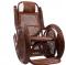 """Кресло-качалка """"Alexa (TWIST)"""" с подушкой коньяк миниатюра"""