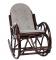"""Кресло-качалка """"CLASSIC"""" с подушкой третья миниатюра"""