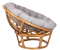 """Кресло-качалка """"PAPYRUS"""" с подушкой вторая миниатюра"""